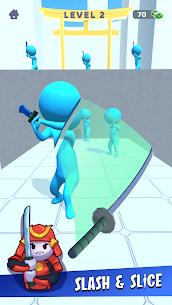Free Sword Play! Ninja Slice Runner 1