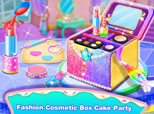 Girl Makeup Kit Comfy Cakesu2013Pretty Box Bakery Game 1.3 Screenshots 1