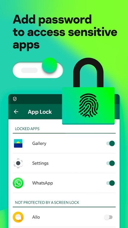 Kaspersky Mobile Antivirus: AppLock & Web Security poster 7