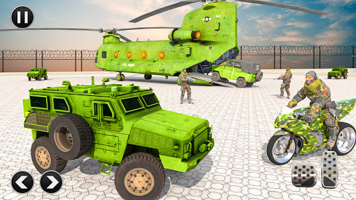 US Army Vehicle Transporter Truck: Military game 1.63 screenshots 1