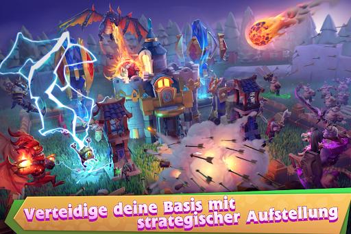 Castle Clash: Le Château du Roi DE APK MOD (Astuce) screenshots 3
