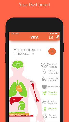VITA screenshot for Android