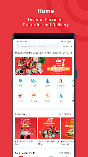 Now - Food Delivery 4.32.34 screenshots 1