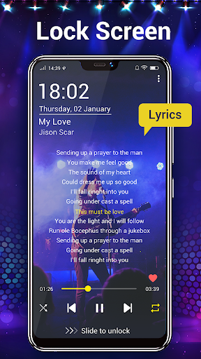 Music Player- Free Music & Mp3 Player 1.8.2 Screenshots 6