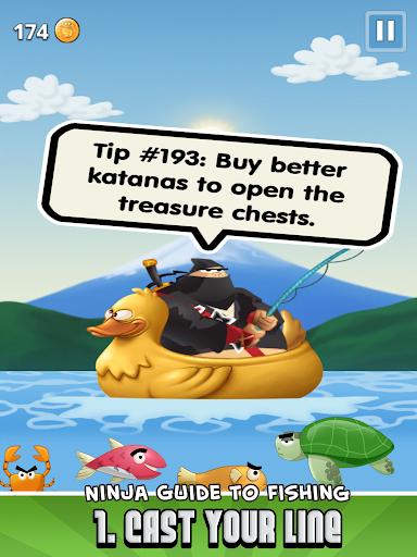 Ninja Fishing apkpoly screenshots 9