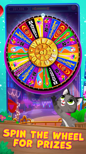 Bubble Pop: Wheel of Fortune! Puzzle Word Shooter apkpoly screenshots 3