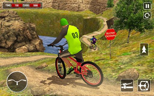 BMX Offroad Bicycle rider Superhero stunts racing screenshots 6