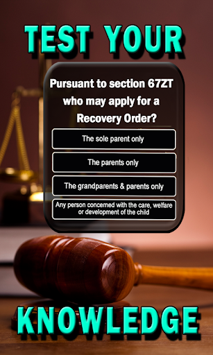 Family Law Trivia - Challenge Your Knowledge Quiz 2.01023 screenshots 3