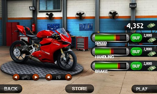 Race the Traffic Moto Screenshot