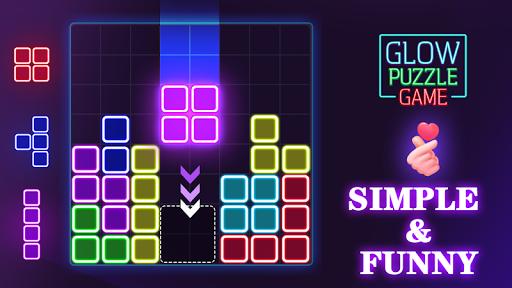 Glow Block Puzzle apktram screenshots 14