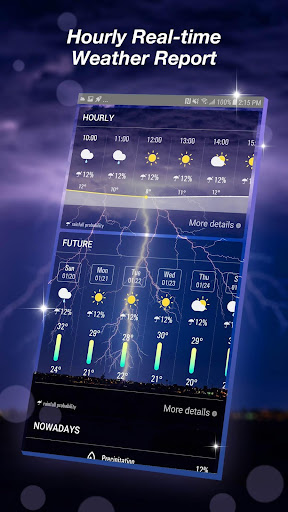 Live Weather Forecast App 16.6.0.6327_50169 Screenshots 3