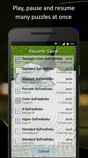 SuFreeDoku 1.041 screenshots 3