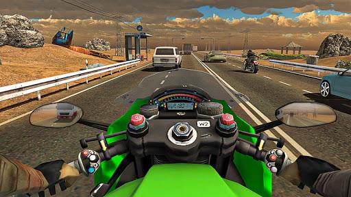 Racing In Moto Traffic Stunt Race 1.20 screenshots 12