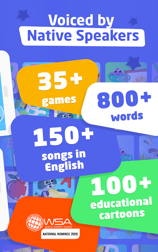 English Gym 2.0 healthy habits & English for kids screenshots 17