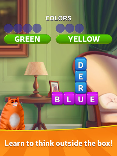 ud83dudd25Kitty Scramble: Word Stacks screenshots 9