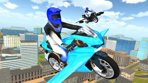 Flying Motorbike Simulator android2mod screenshots 16