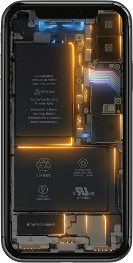 Phone Electricity Live Wallpaper  Screenshots 6