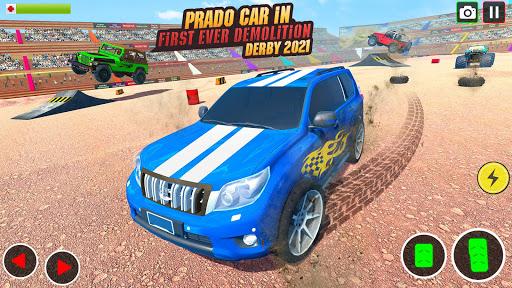 Demolition Derby Prado Jeep Car Destruction 2021 1.4 Screenshots 5