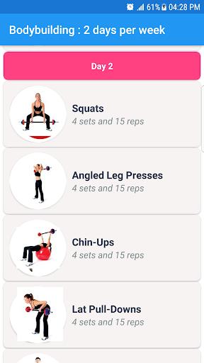 Fitness & Bodybuilding 1.7 Screenshots 4