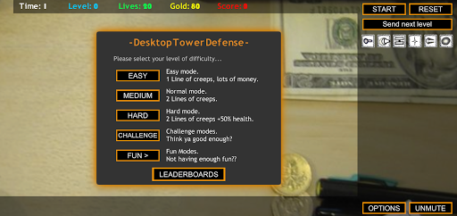 Desktop Tower Defense painmod.com screenshots 4