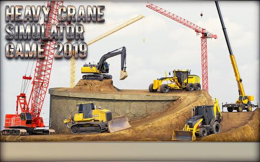 Heavy Crane Simulator Game 2019 u2013 CONSTRUCTIONu00a0SIM 1.2.9 screenshots 2