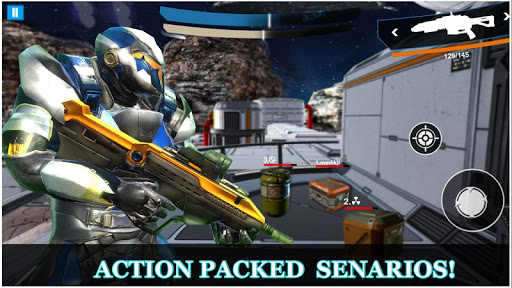 Robo Legacy: Strange Robot War Battleground screenshots 13