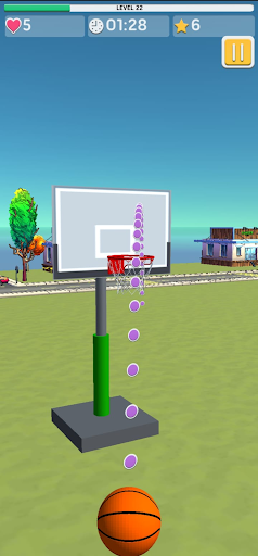 Basketball 3D Shooting 1.1.8 screenshots 6