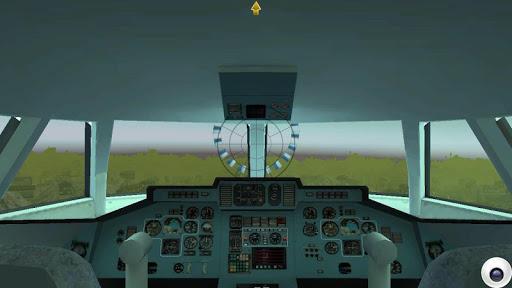 jet airplane fly sky simulator screenshot 3