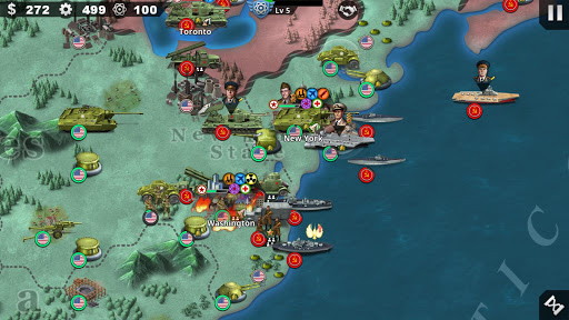 World Conqueror 4 - WW2 Strategy game 1.2.52 screenshots 4