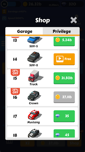 Drift Race 3D:Idle Merge Car Tycoon 1.2 screenshots 5