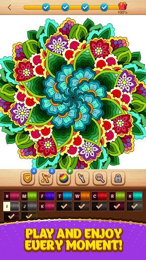 Cross Stitch Coloring Mandala 0.0.236 screenshots 5