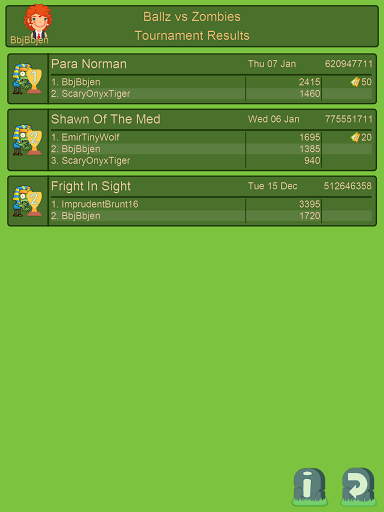 Ballz vs Zombies, zap a zombie  screenshots 12