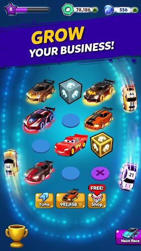 Merge Neon Car: Car Merger 2.0.17 screenshots 9