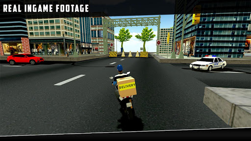 city courier delivery rider screenshot 3
