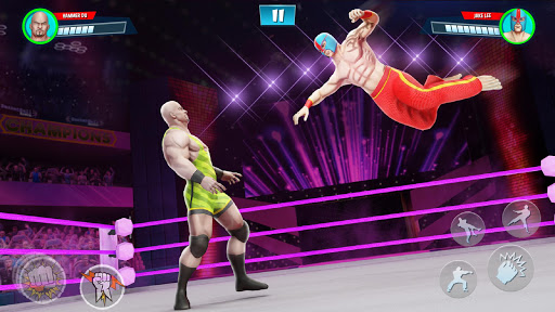 Cage Wrestling Games: Ring Fighting Champions 1.1.7 screenshots 2