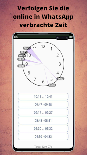 WaStat - WhatsApp-Tracker Screenshot