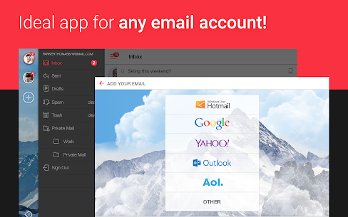 myMail: Email App for Gmail, Hotmail & AOL E-Mails 8