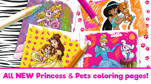 Disney Coloring World - Coloring Games for Kids 7.0.0 screenshots 1
