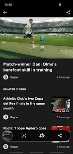 OneFootball - Fußball Bundesliga News Screenshot