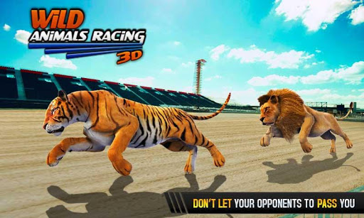 Wild Animals Racing 3D 3.9 screenshots 2