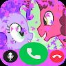 My pony : cool fake call video app apk icon