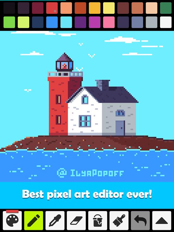 Pixel Studio - Pixel art editor, GIF animation  poster 8