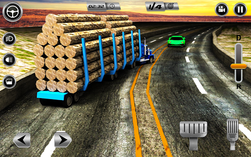 Euro Long Trailer Truck Sim 2021: Cargo Transport 2.4 screenshots 8