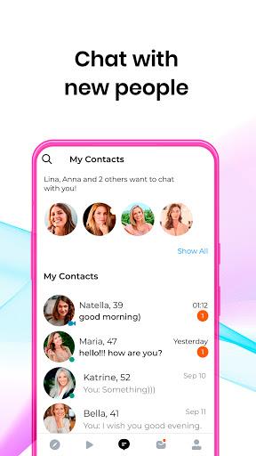 DateMyAgeu2122: Chat, Meet, Date Mature Singles Online 7.17.1 Screenshots 3