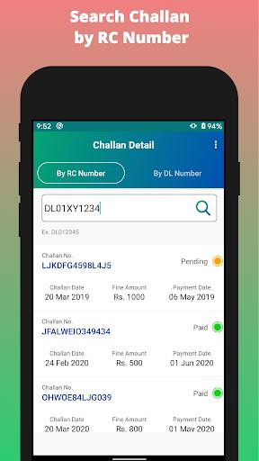 Challan Detail apktram screenshots 2