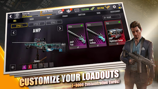 Zula Mobile: Multiplayer FPS 0.18.0 screenshots 20