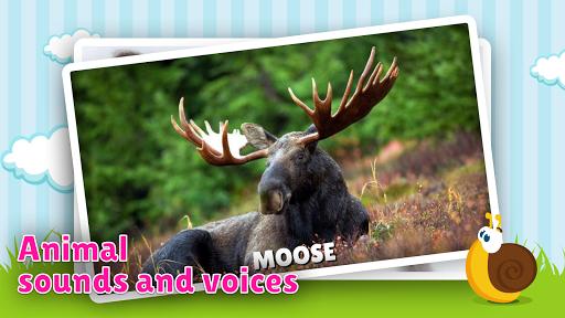animal flashcard & sounds for kids & toddlers screenshot 1