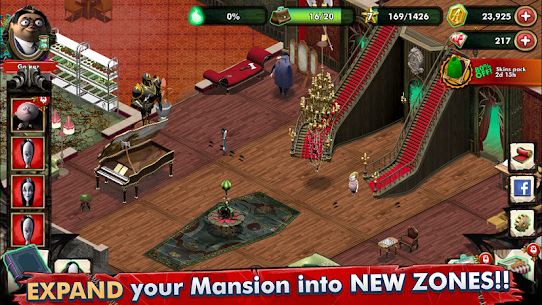 Addams Family Mystery Mansion The Horror House MOD (Gems/Coins) 4