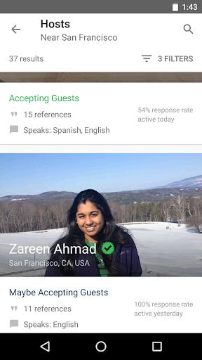 Couchsurfing Travel App  Screenshots 3
