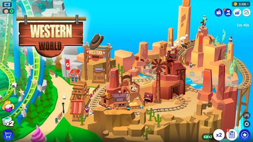 Idle Theme Park Tycoon - Recreation Game  screenshots 4
